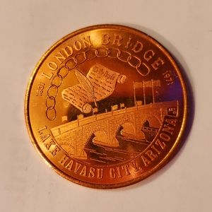 1986-87 Lake Havasu AZ Rotary Commemorative Coin